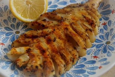 Gegrillte Tintenfischtuben - Rezept - Bild Nr. 3707