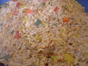 Paprika Hack Reis Pfanne - Rezept - Bild Nr. 3515