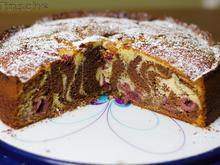 Zebra-Kirsch-Schoko-Kuchen - Rezept - Bild Nr. 3
