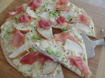 Tortilla-Flammkuchen - Rezept - Bild Nr. 3527