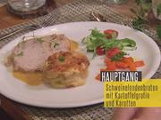 Schweinelendenbraten mit Kartoffelgratin - Rezept - Bild Nr. 2