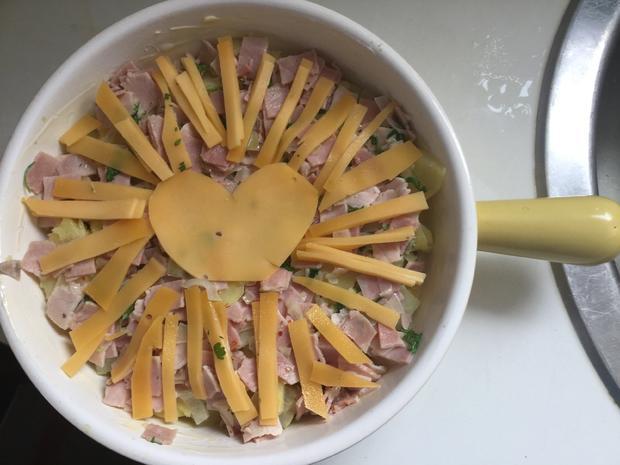 Kartoffel-Kohlrabi Auflauf mit Schinken - Rezept - Bild Nr. 3581