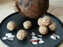 Kokos Dattel Kugeln - Cocos Dattel Balls - Rezept - Bild Nr. 3579