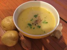 Kartoffelsuppe mit Curry, Ingwer und Safran - Rezept - Bild Nr. 3583