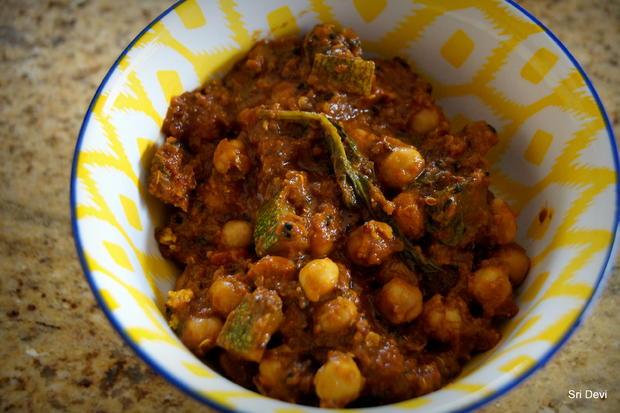 Schnelles Kichererbsen-Zucchini-Spinat-Curry - Rezept - kochbar.de