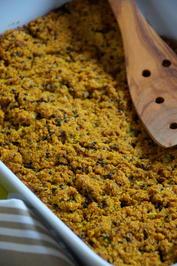Rezept: Gesundes Zucchini-Mais-Brot
