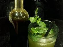 Minze Sirup - Pfefferminz Sirup - Rezept - Bild Nr. 3618