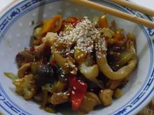 Udon-Chicken-Bowl - Rezept - Bild Nr. 3621