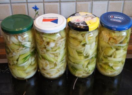 Senfgurken mit Ingwer - Rezept - Bild Nr. 3625