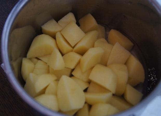 Regenbogen-Forelle mit Kartoffel-Meerrettich-Stampf - Rezept - Bild Nr. 3638