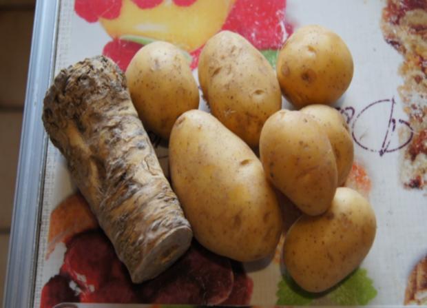 Regenbogen-Forelle mit Kartoffel-Meerrettich-Stampf - Rezept - Bild Nr. 3640