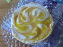 Marmorierte Mango-Joghurt-Torte  - Rezept - Bild Nr. 3638