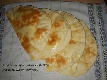 indisch: Naan -  Fladenbrot mit Joghurt - Rezept - Bild Nr. 3704