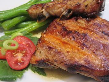 Fleisch: Schälrippchen, geschmort und gegrillt - Rezept - Bild Nr. 3670
