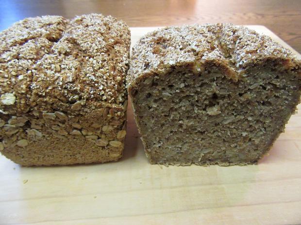 Getreideflocken-Brot - Rezept - Bild Nr. 3675