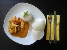 Olli's Hünchencurry mit Reis - Rezept - Bild Nr. 3674