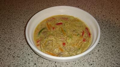 Glasnudel-Kokos-Suppe - Rezept - Bild Nr. 2