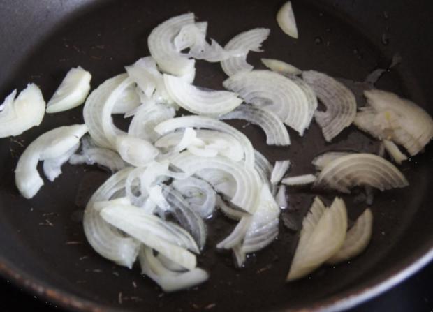 Zwiebel-Schinkenwürfel-Omelett - Rezept - Bild Nr. 3697