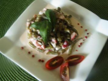 Bohnensalat mit Creme fraiche - Rezept - Bild Nr. 3697