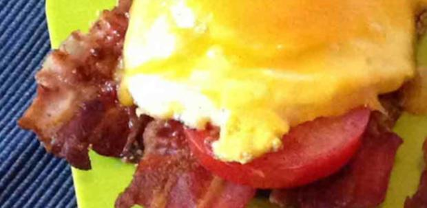 Bacon Ei Burger - Rezept - Bild Nr. 2