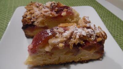 Marzipan-Kuchen mit Zwetschgen-Knusper-Decke - Rezept - Bild Nr. 3698