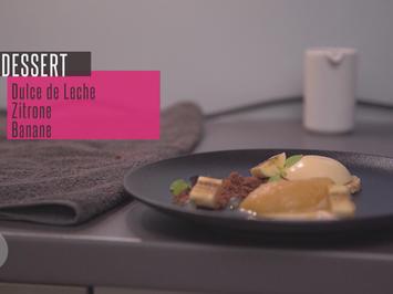 Tarte von Dulce di Leche mit Zitronengrassorbet und Banane - Rezept - Bild Nr. 2