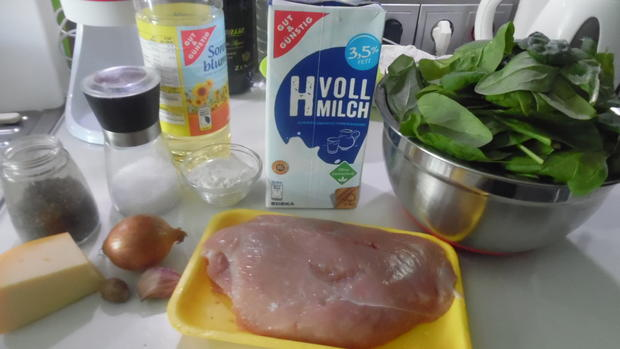 Gnocchi-Auflauf mit Pute und Spinat - Rezept - Bild Nr. 3709