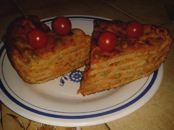 Rezept: Pfannkuchen-Lasagne