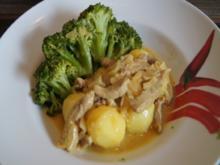 Kalbsfleischgeschnetzeltes mit Brokkoli und Drillingen - Rezept - Bild Nr. 3707