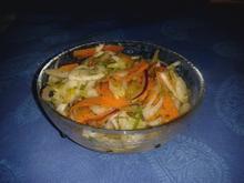 Fenchel-Karotten-Salat mit Orange - Rezept - Bild Nr. 2