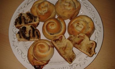 Rezept: Gefüllte Scon-Schnecken