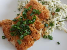 Putenschnitzel aus dem Ofen mit Fenchelsalat - Rezept - Bild Nr. 3707