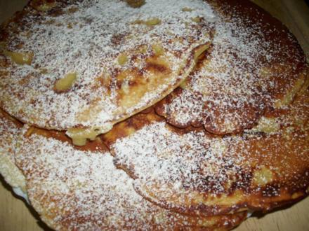 Apfel-Pfannkuchen - eifrei - Rezept - Bild Nr. 5