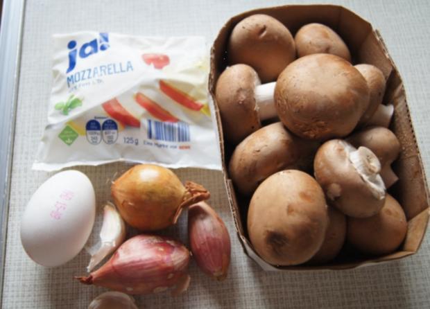 Champignon-Mozzarella-Omelett - Rezept - Bild Nr. 3720