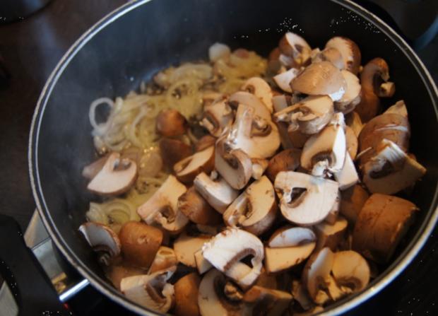 Champignon-Mozzarella-Omelett - Rezept - Bild Nr. 3721