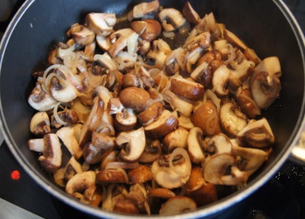 Champignon-Mozzarella-Omelett - Rezept - Bild Nr. 3724