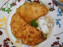 Gebratene Zucchinischeiben mit Tartarska Omacka - Rezept - Bild Nr. 3785