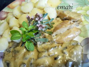Hühnchen in Pilzsauce - Rezept - Bild Nr. 3787
