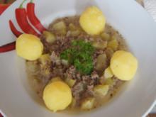 Rinderhackfleisch-Zucchini-Pfanne mit Drillingen - Rezept - Bild Nr. 3787