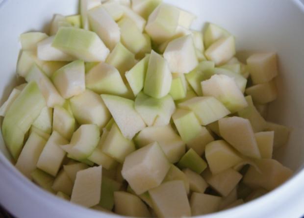 Rinderhackfleisch-Zucchini-Pfanne mit Drillingen - Rezept - Bild Nr. 3789