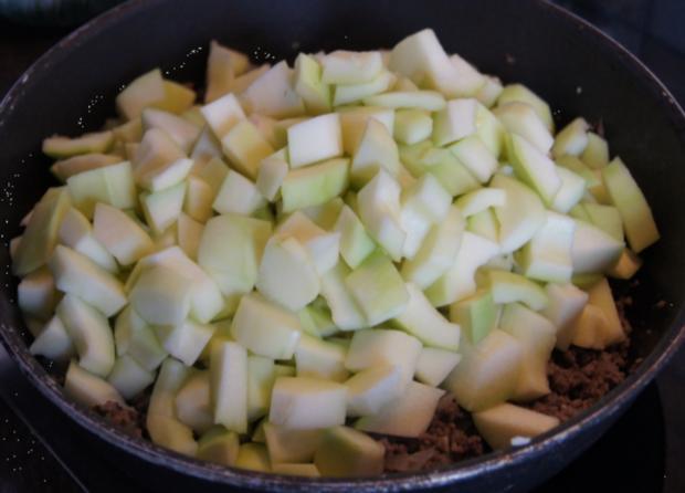 Rinderhackfleisch-Zucchini-Pfanne mit Drillingen - Rezept - Bild Nr. 3792
