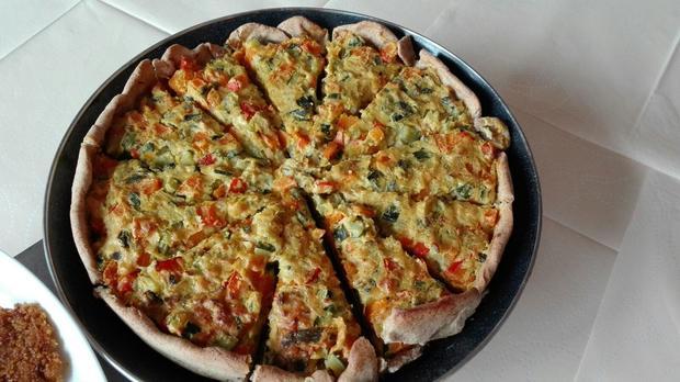 Kürbis Zucchini Tarte Rezept Mit Bild Kochbarde