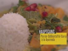 Porree-Süßkartoffel-Curry à la Ayurveda - Rezept - Bild Nr. 2