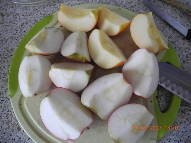 Apfelrotkohl zum Zwiebelbuchweizen - Rezept - Bild Nr. 3791