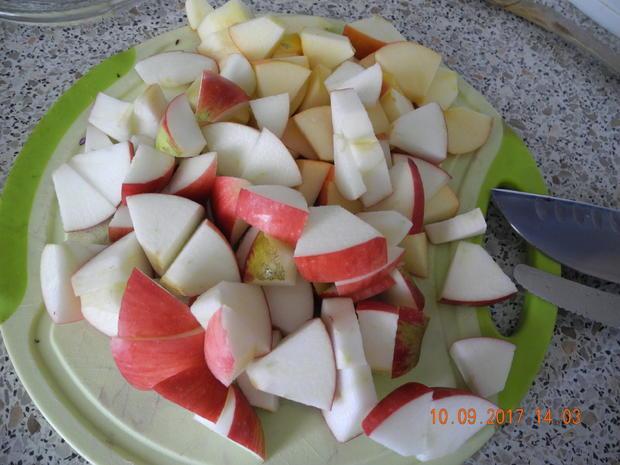 Apfelrotkohl zum Zwiebelbuchweizen - Rezept - Bild Nr. 3792