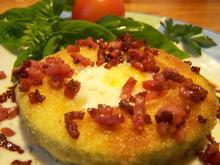 panierte Zucchini-ringe, gefüllt zum Frühstück oder Lunch - Rezept - Bild Nr. 3800