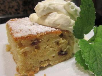 Dessert: Warme Apfelschnitten mit Karamell-Sahne - Rezept - Bild Nr. 3798
