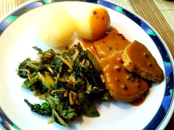 Rezept: Grünes Wok-Gemüse - asiatisch