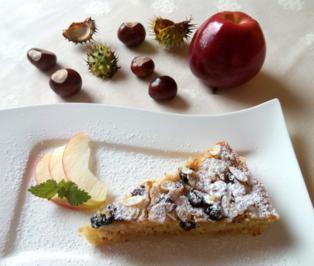 Rezept: Calvadosapfel, Sultaninen und Mandeln ...
