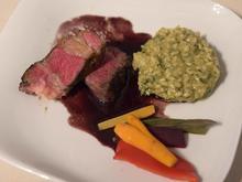 Tomahawk-Steak mit Kräuterrisotto - Rezept - Bild Nr. 2